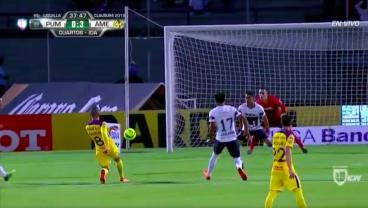The Amount Of Technique On This Mateus Uribe Strike Is A Scary Sight