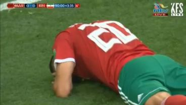 Aziz Bouhaddouz Must Live Like An Exile After Thumping A Last-Second Own Goal
