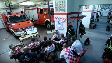 Croatian Firefighters Win The Internet For Their Insane Professionalism