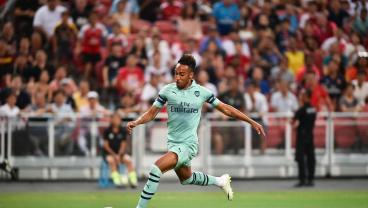 Aubameyang Leaks Speed Stats To Let You Know He's The Fastest At Arsenal