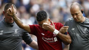 Images Of Bobby Firmino's Eye Injury Are Pretty Gruesome