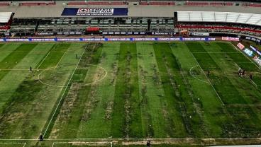 The Estadio Azteca Pitch Looks Like Total Jack