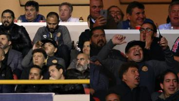 Maradona Drinks Beer And Punches People During Ascenso MX Final Defeat