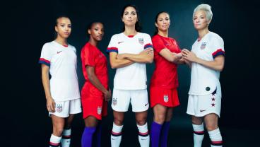 Nike Officially Unveils The 2019 USWNT World Cup Uniforms