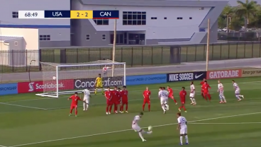 Claudio Reyna's Son Helps Save U-17 USMNT With 3-Goal Comeback To Open Concacaf U-17 Championship