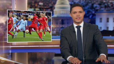 The Daily Show Hilariously Defends USWNT's 13-0 Bashing Of Thailand