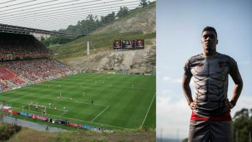SC Braga, Famous For Its Bonkers Stadium, Now Has A Fitting Jersey To Match