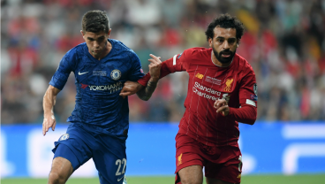 Christian Pulisic Terrorizes Liverpool Defense In First Half Of UEFA Super Cup