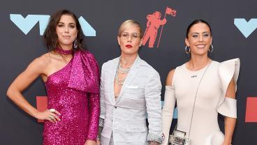 The USWNT Killed It At The 2019 MTV VMAs