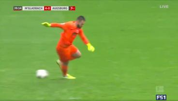 Gladbach Goes Top Of The Bundesliga After Mesmerizing Howler