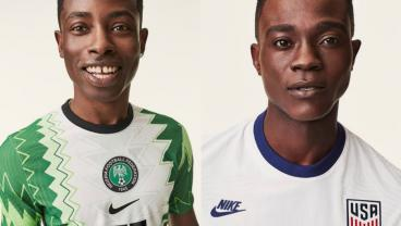 Nike Launches New Jerseys For USA And Nigeria; Nigeria's Is Better