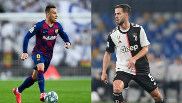 Barça's Arthur Agrees To Juventus Switch With Miralem Pjanić Going The Other Direction