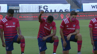 Fans Return To MLS Matches By Booing Human Rights