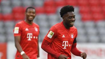 Alphonso Davies Keeps Spirits High While Out Injured By Prank Calling His Bayern Teammates