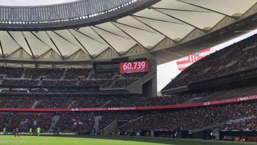 World Record Crowd Of Over 60,000 Watches Barça Women Defeat Atletico At The Wanda