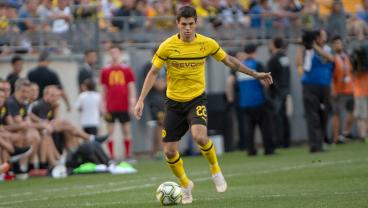 Christian Pulisic Scores, Assists, Earns Winning Penalty In 3-2 Dortmund Victory