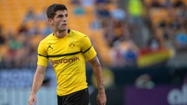 Christian Pulisic Opens His Bundesliga Account After Combining With Marco Reus