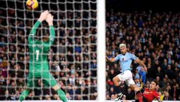 Man City's Absurd 42-Pass Team Goal Ensures That Manchester Is Blue