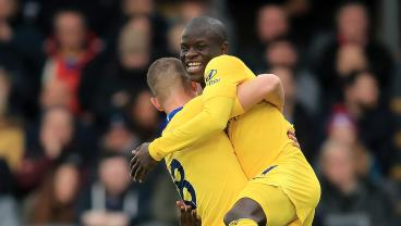The Lovely N'Golo Kante Scores The Loveliest Of Goals