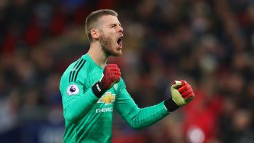 David De Gea Produces An 11-Save Master Class In United's 1-0 Win Over Spurs