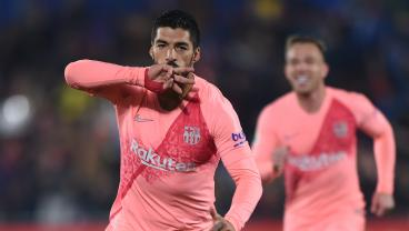 Luis Suarez Scores The Kinda Goal That Makes You Very, Very Happy To Be Alive