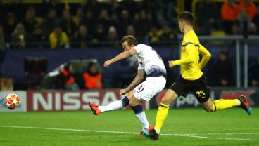 Harry Kane's Measured Finish Buries Borussia Dortmund, 4-0 On Aggregate