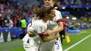 Tobin Heath Brings Nutmegs And Magical Solo Goals To The U.S. Party