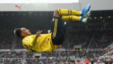 Pierre-Emerick Aubameyang's Lovely Two-Touch Finish Gives Arsenal A Winning Start
