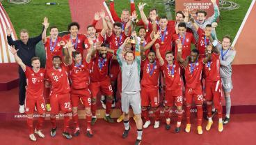 Bayern Munich Matches Barcelona's Legendary 2009 Side By Winning The Club World Cup