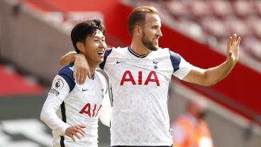 Harry Kane Assists All 4 Of Son Heung-Min's Goals Vs. Southampton, Making EPL History