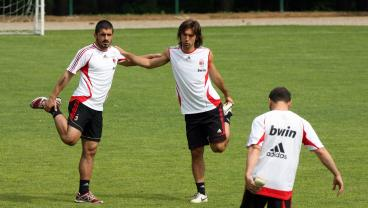 Friends Become Enemies Sunday As Pirlo And Gattuso Meet On The Touchline For First Time