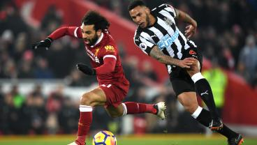 Twitter Reacts To Mohamed Salah's Contentious Penalty Vs. Newcastle