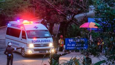 4 More Out, 5 To Go In Thai Soccer Team Cave Rescue