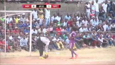 This Goalkeeper Error Was So Funny Fans Ran Onto The Pitch And Danced