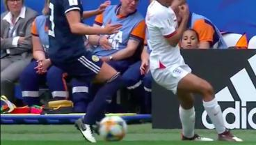 Nikita Parris Pulls Off A Savage Nutmeg In England's Win Over Scotland