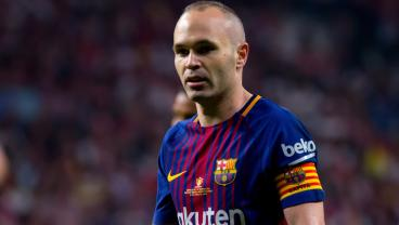 Standing Ovation And Coutinho Wonder Goal Make For Fitting Andres Iniesta Farewell