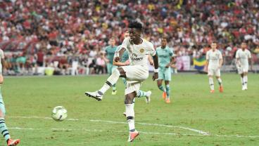 Tim Weah Looks To One Up His 3 Fabled PSG Teammates During USMNT-Brazil Clash