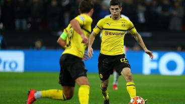 Pulisic Comes Up Huge For Stuttering Dortmund With Goal And Assist Off The Bench