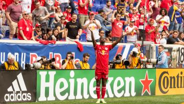 Bradley Wright-Phillips Celebrates 100th MLS Goal In Outrageous Fashion