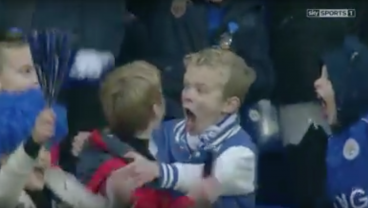We Dare You Not To Smile Watching These Leicester Youngsters Celebrating