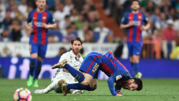 Watch Real Madrid Try To Slow Messi Down With Brutal Tackles