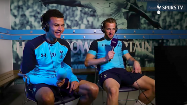 Dele Alli and Harry Kane Try Their Hand at Commentating
