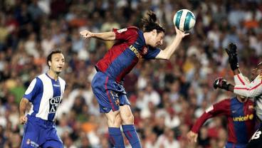 Messi Recreates Maradona's Hand Of God Goal