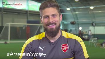 Arsenal Players Try Australian Slang