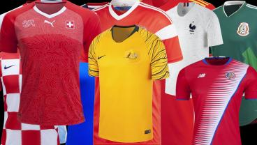 Here Are The Best World Cup Jerseys for 2018