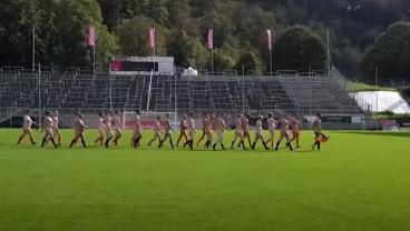 Naked International Friendly Match Held To Protest FIFA Greed