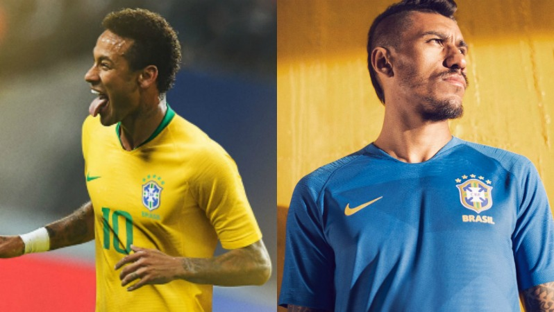 2018 World Cup Jerseys Brazil