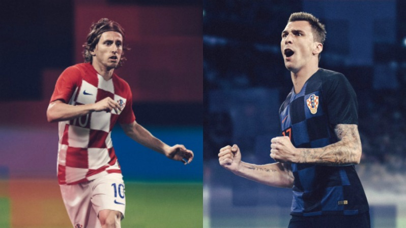 2018 World Cup Jerseys Croatia