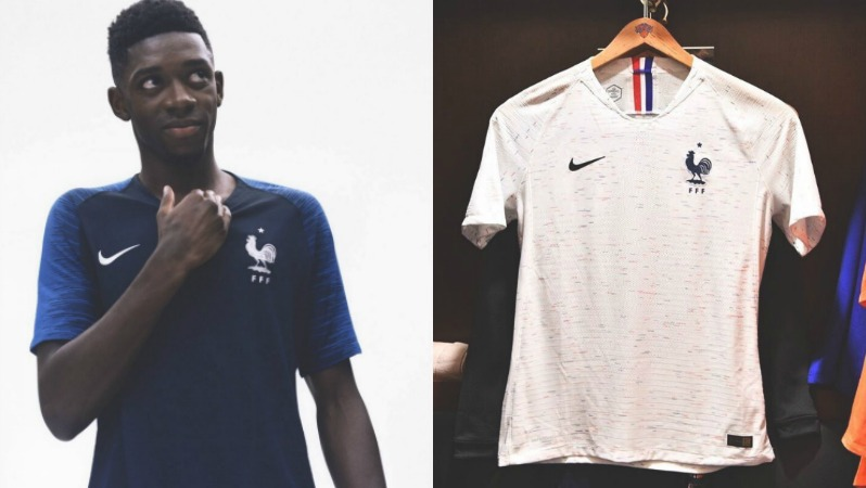 2018 World Cup Jerseys France