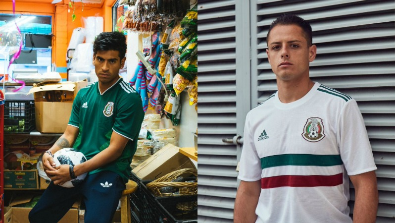 2018 World Cup Jerseys Mexico